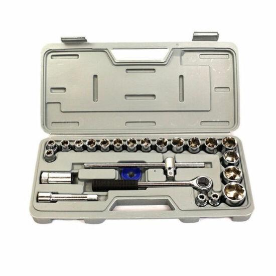 Möller 25 db-os racsnis dugókulcs készlet MR60604
