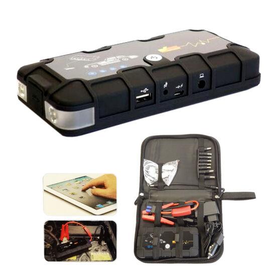 Straus Powerbank, gyorsindító és járműbikázó 12000mAh ST/CA-300JS