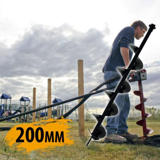 Straus talajfúrószár 200mm