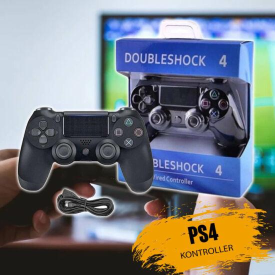 Doubleshock 4 vezetékes kontoller PS4-hez
