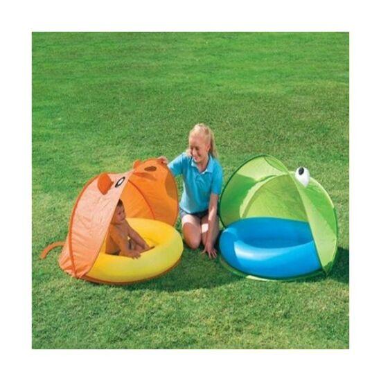 Pancsoló napvédő sátorral