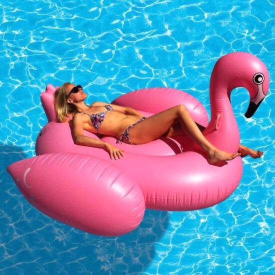 Felfújható óriás Flamingó matrac