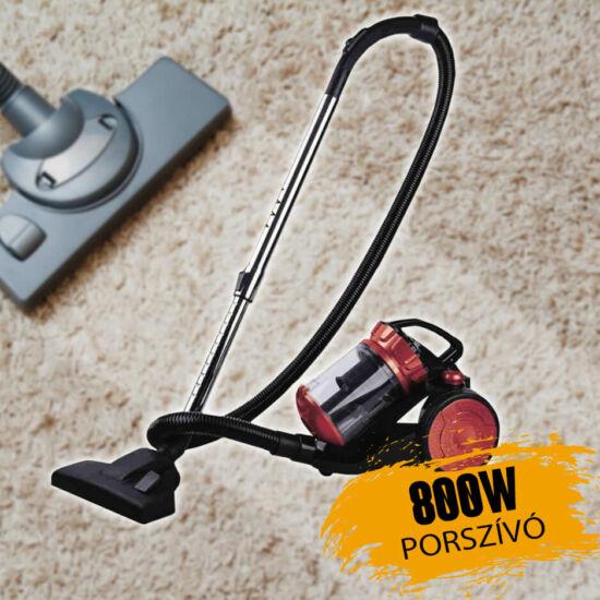 Straus 800W porzsák nélküli porszívó ST/EVC800-009