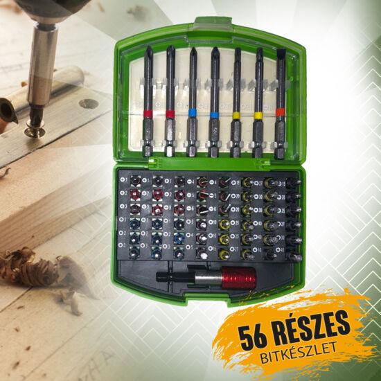Möller 56 részes csavarhúzó bit készlet kofferben MR70379