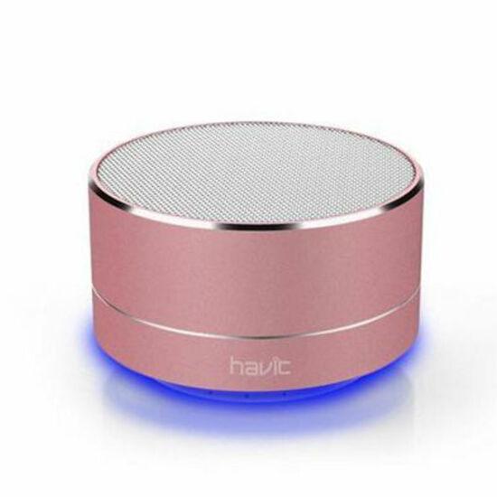 Havit hordozható vezeték nélküli hangszóró M8BT Rose gold