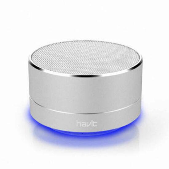 Havit hordozható vezeték nélküli hangszóró ezüst M8BT Silver